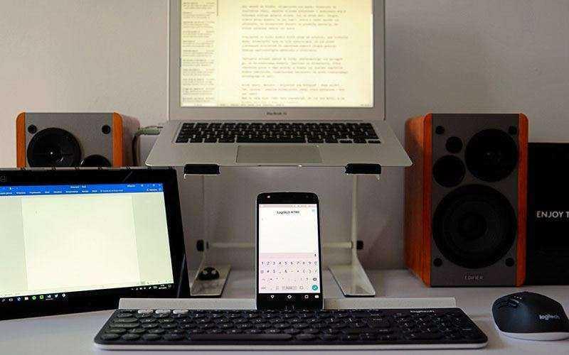 Клавиатура Logitech K780 Multi-Device Keyboard и мышь Logitech M720 Triathlon – Отзывы