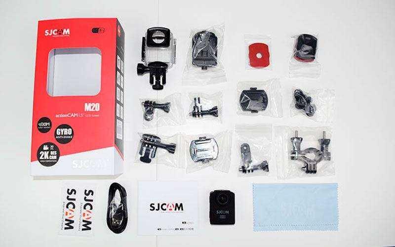 Экшн камера SJCAM M20 комплект