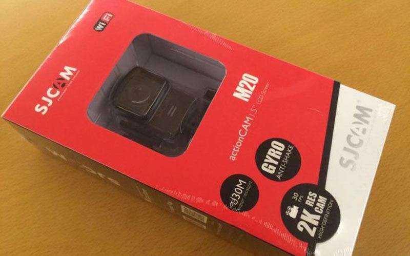 камера SJCAM M20 отзывы