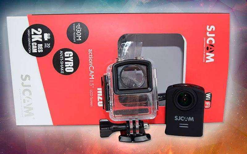 Обзор SJCAM M20 – Экшн камера, которая превосходит все ожидания