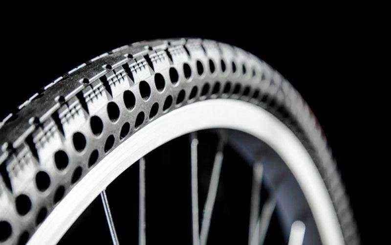 Инновационные велосипедные шины без воздуха Ever