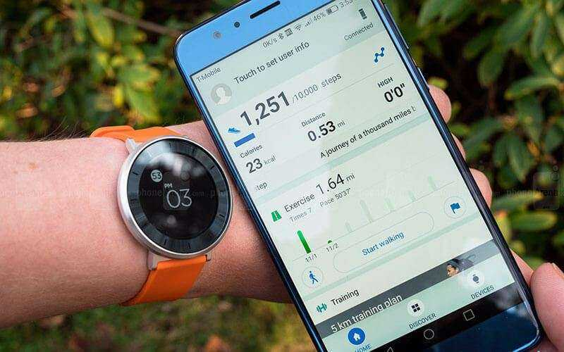 подключение Huawei Fit