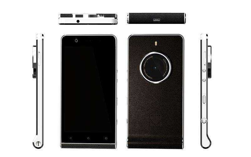 Новый смартфон Kodak Ektra