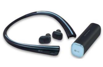 Новые наушники LG TONE Free и акустическая система LG TONE Studio