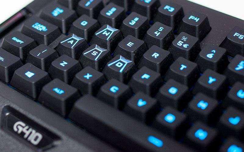 игровая клавиатура Logitech G410