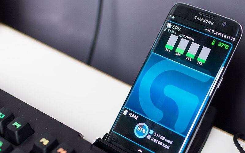 подставка Logitech G410 Atlas Spectrum для смартфона