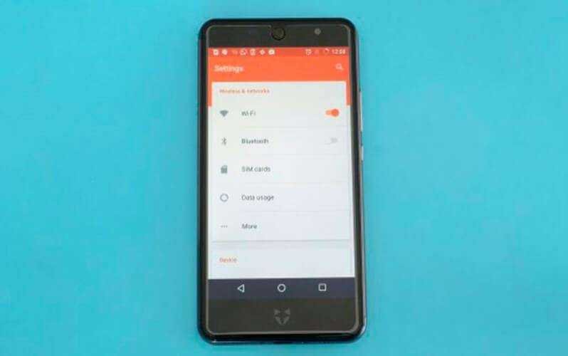 ПО в Wileyfox Swift 2