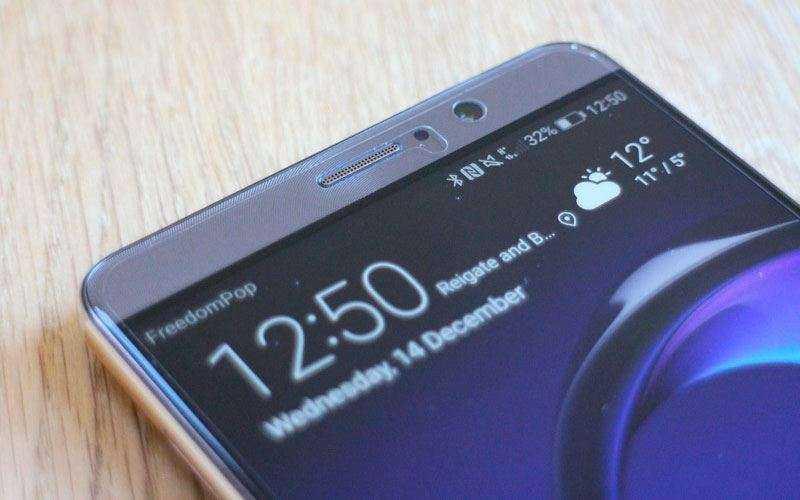 дизайн Huawei Mate 9