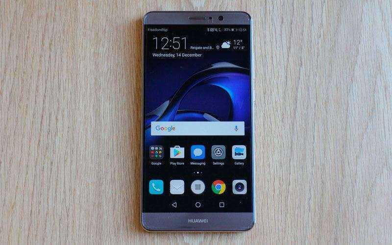 Обзор Huawei Mate 9 – Недорогой смартфон Huawei с большим экраном