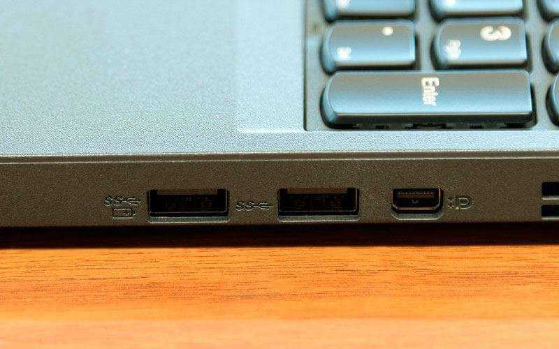 порты Lenovo ThinkPad P50s