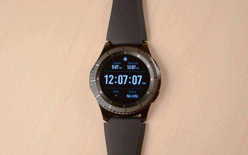 спортивные часы Samsung Gear S3
