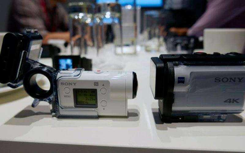 тест Sony FDR-X3000R