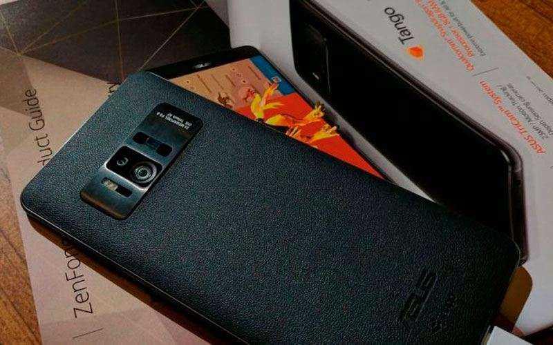 Новый смартфон Asus ZenFone AR