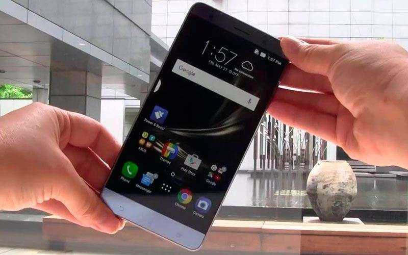 тест Asus Zenfone 3 Deluxe Special Edition