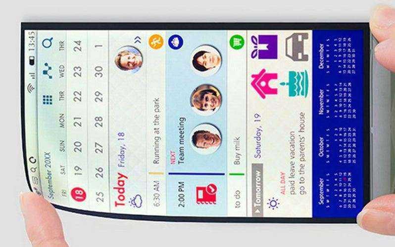 Japan Display ЖК-экран Full Active Flex