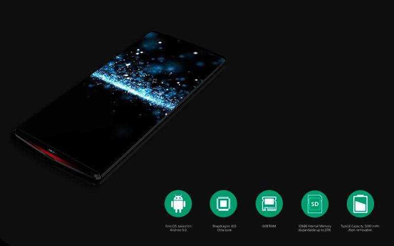 флагманский смартфон Oppo Find 9