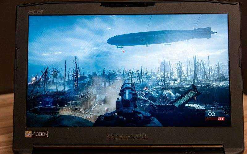 экран Acer Predator 15