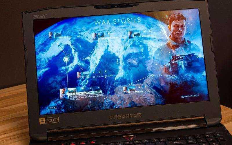 Acer Predator 15 в играх