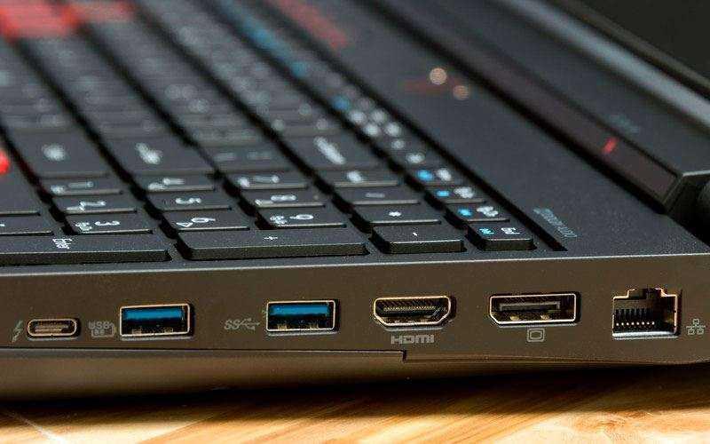 порты Acer Predator 15