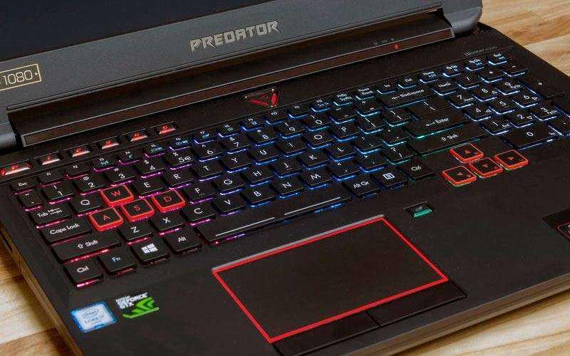 клавиатура Acer Predator 15