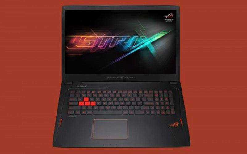 Новый игровой ноутбук ROG Strix GL702VM