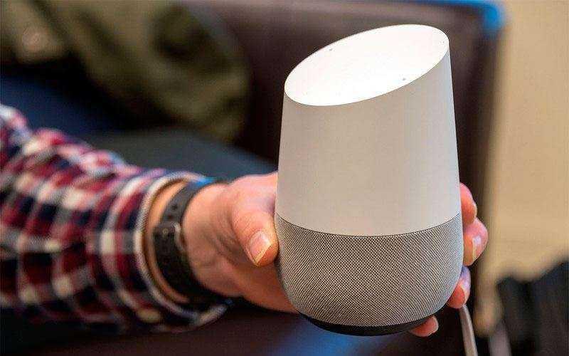 тест Google Home
