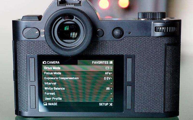 видеоискатель и экран Leica SL (Typ 601)