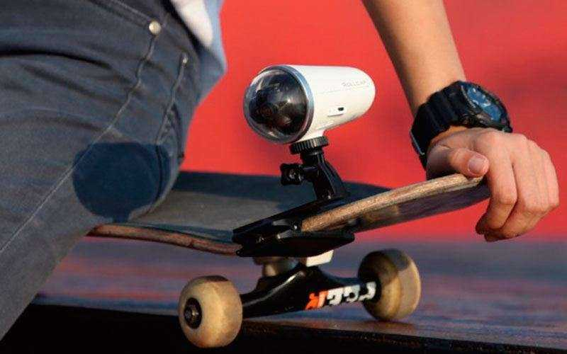 Экшн камера 4K Zerotech Rollcap