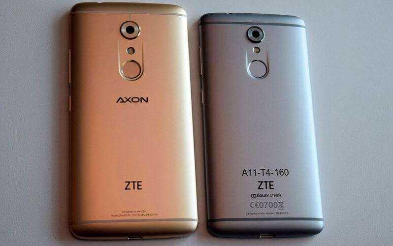 ZTE Axon 7 и ZTE Axon 7 Mini