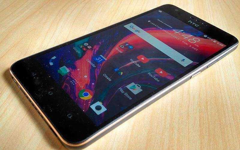 ОС в HTC Desire 10 Lifestyle