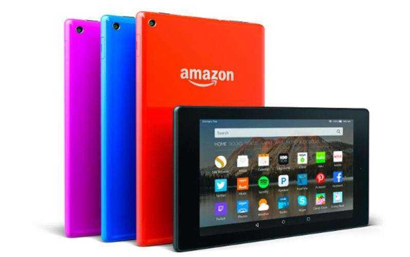 Amazon Fire планшеты