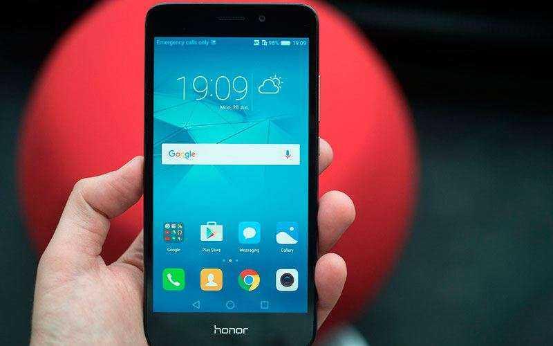 ПО в Huawei Honor 5C