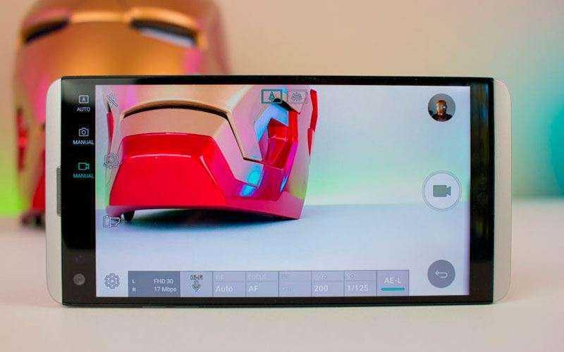камера LG V20