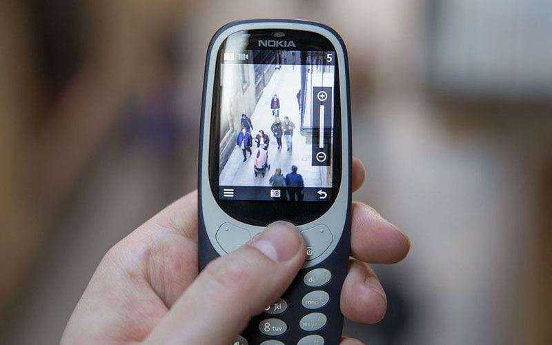 камера Nokia 3310 (2017)