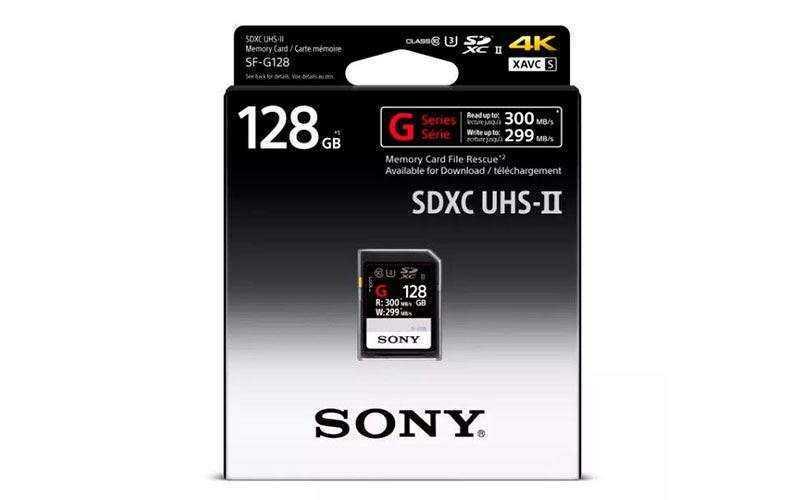 Новые SD карты Sony SF-G самые быстрые в мире
