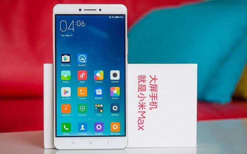 Xiaomi Mi Max 2 получит 6.4-дюймовый экран и 6 Гб ОЗУ