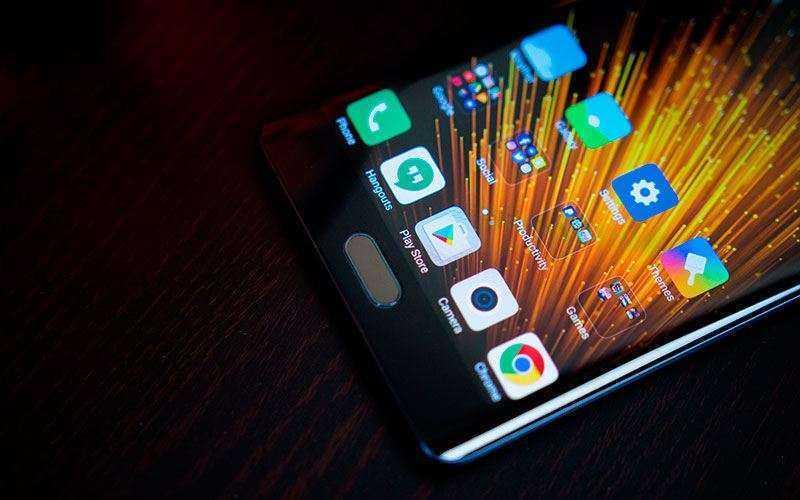 ПО в Xiaomi Mi Note 2