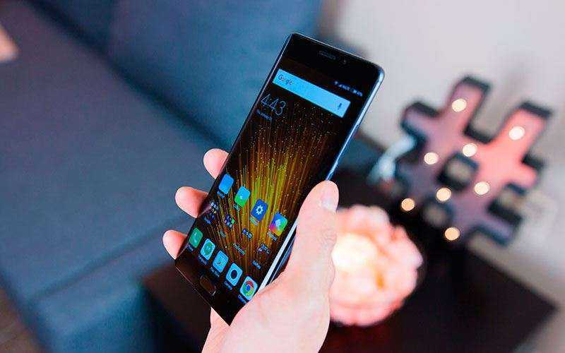 дизайн Xiaomi Mi Note 2