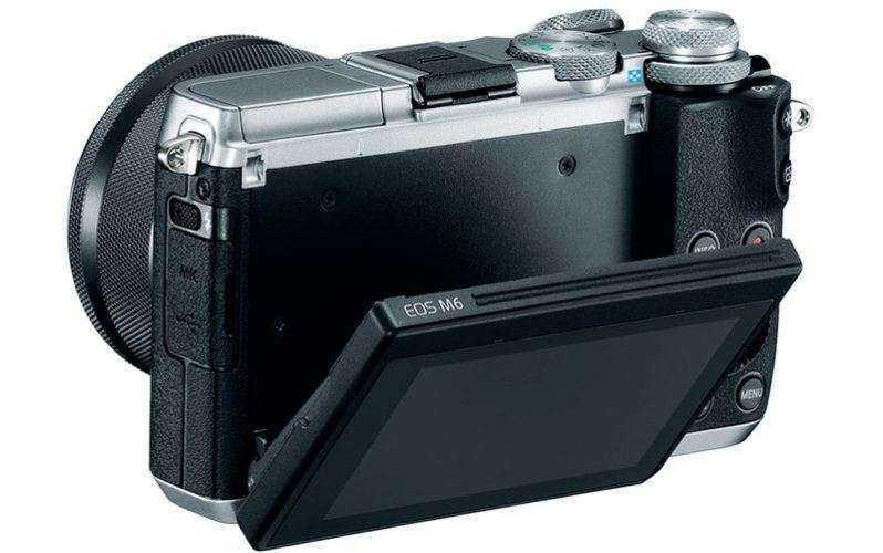 Более компактная Canon EOS M6
