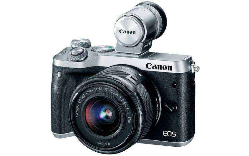камера Canon EOS M6