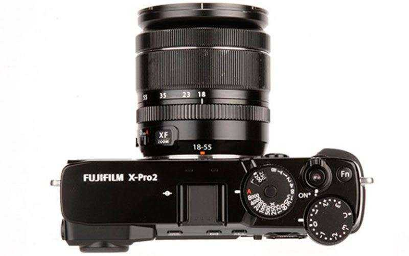 конструкция Fujifilm X-Pro2