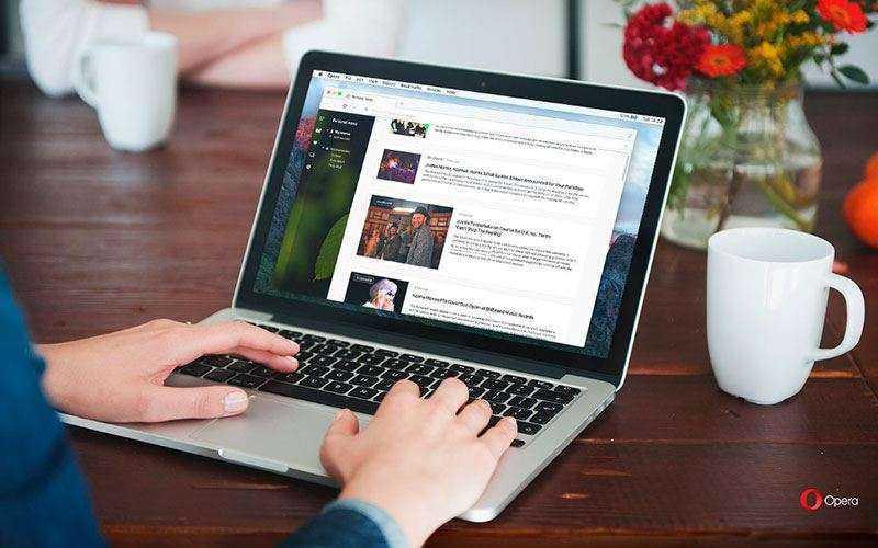 Opera начнет загрузку веб-страницы, прежде чем Вы закончите ввод