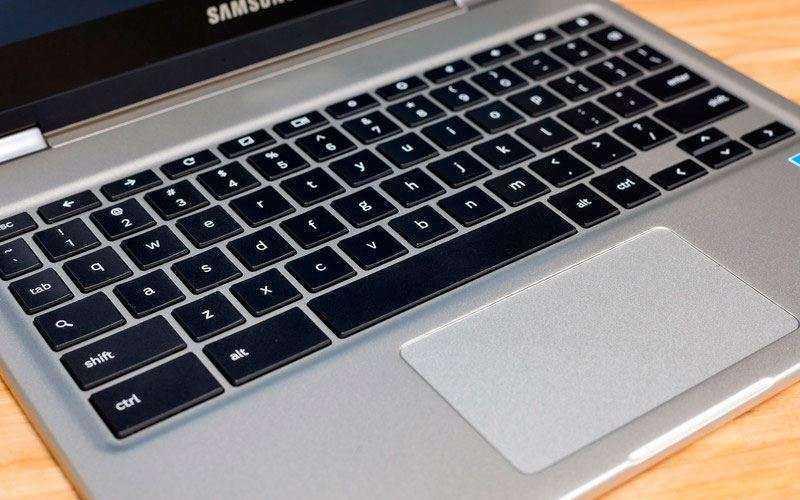 клавиатура и трекпад Samsung Chromebook Pro
