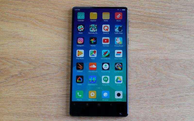ОС в Xiaomi Mi Mix