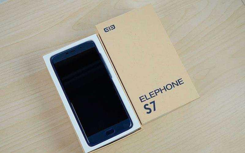 Elephone S7 из коробки