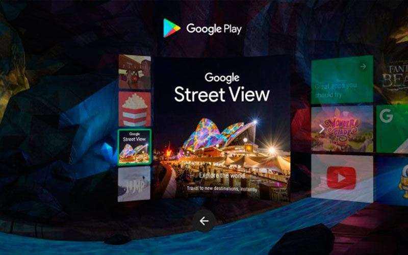 настройка Google Daydream View