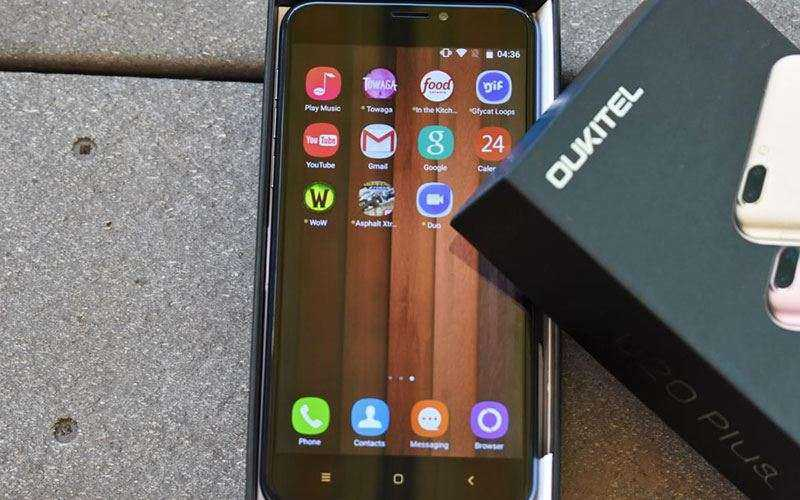 Китайский смартфон OUKITEL U20 Plus