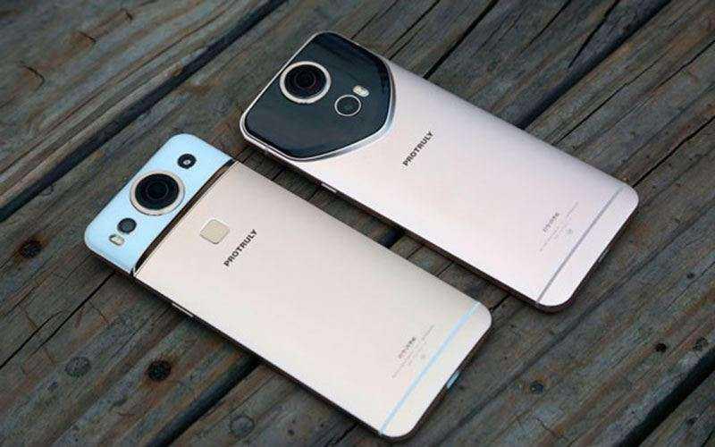 Protruly Darling первый смартфон с камерой 360