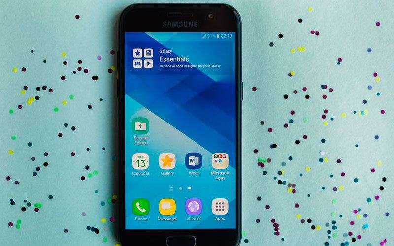 Экран Samsung Galaxy A3 (2017)