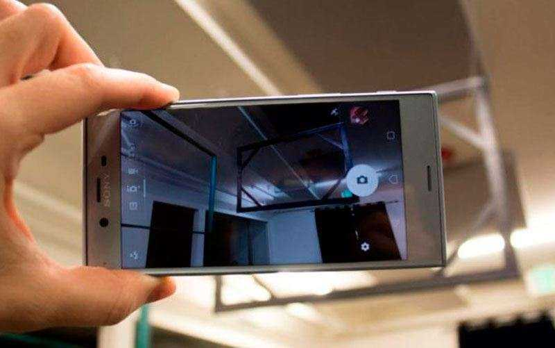 камера Sony Xperia XZs